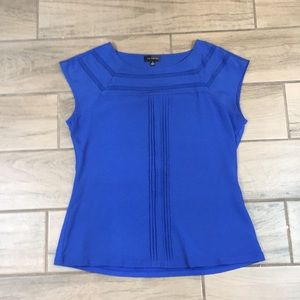 The Limited M Royal Blue Blouse